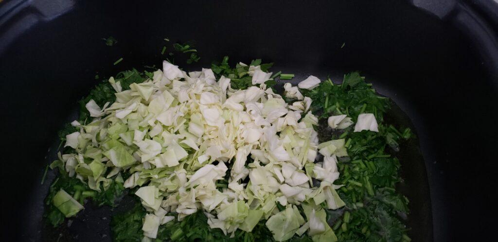 keto greens in a crockpot