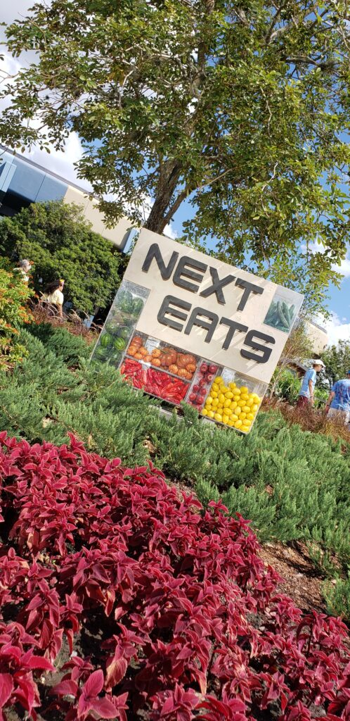 next eats sign in flowers 2019