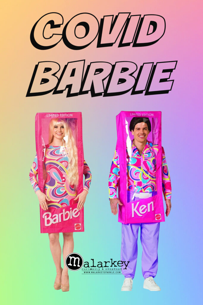 COVID BARBIE AND KEN