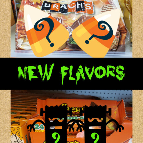 new flavors halloween candy