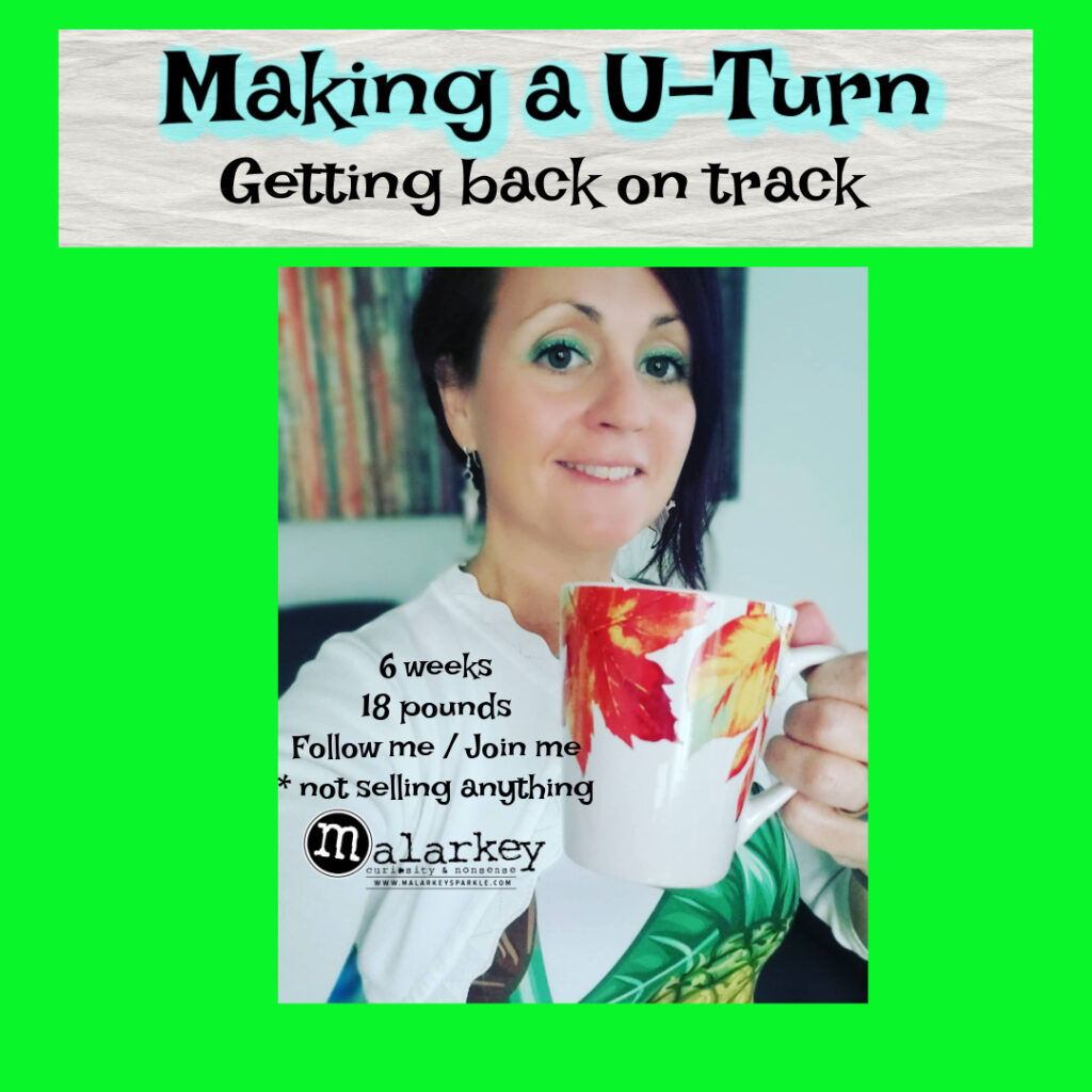 making a u turn and getting back on track working over a woman