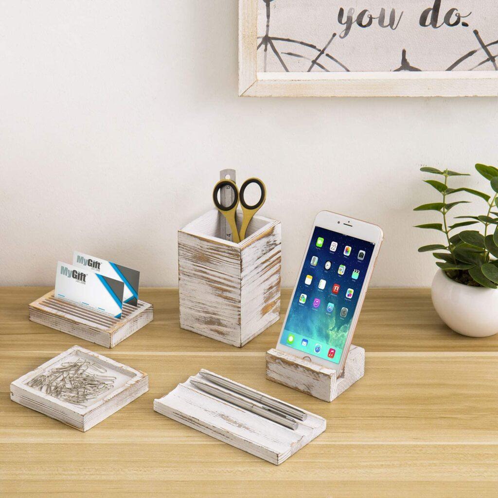 white desk organizer for tidy desk tidy mind