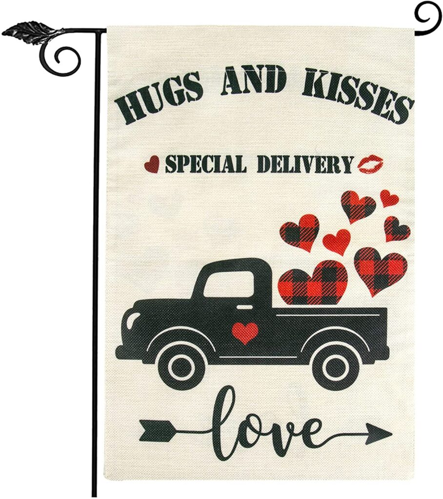 Valentines Day - spread love - hugs and kisses