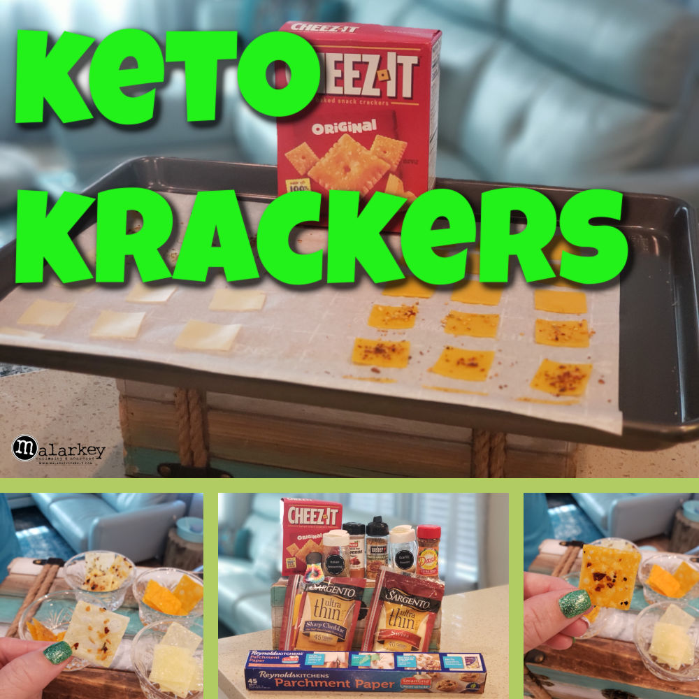 keto krackers - crackers made from cheese