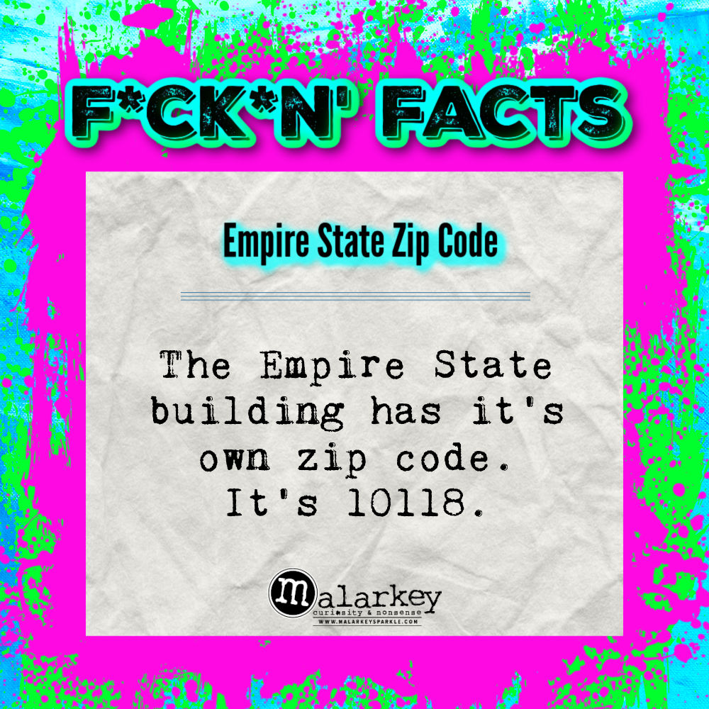 fucking facts - empire state zip