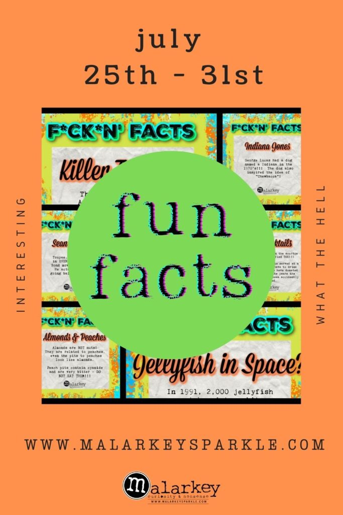fun facts for the week