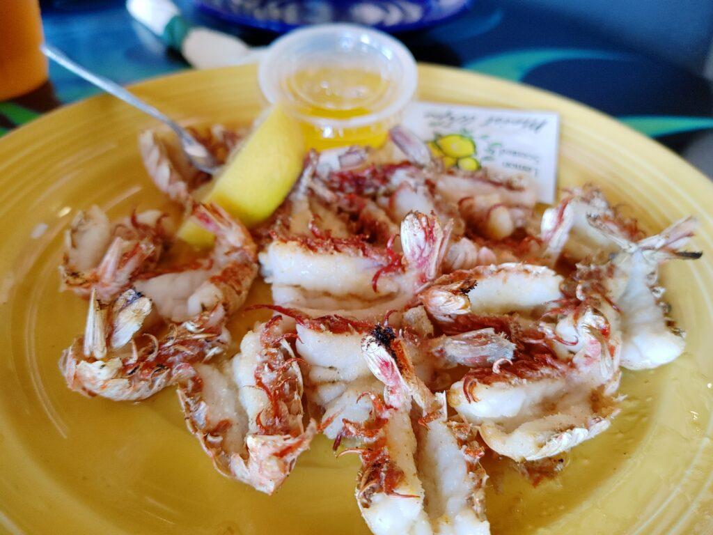 rock shrimp - from grills