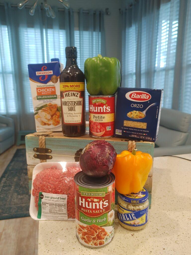 stuffed pepper ingredients