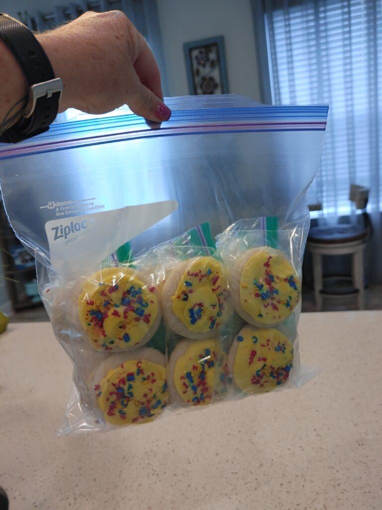 back to school prep - cookie