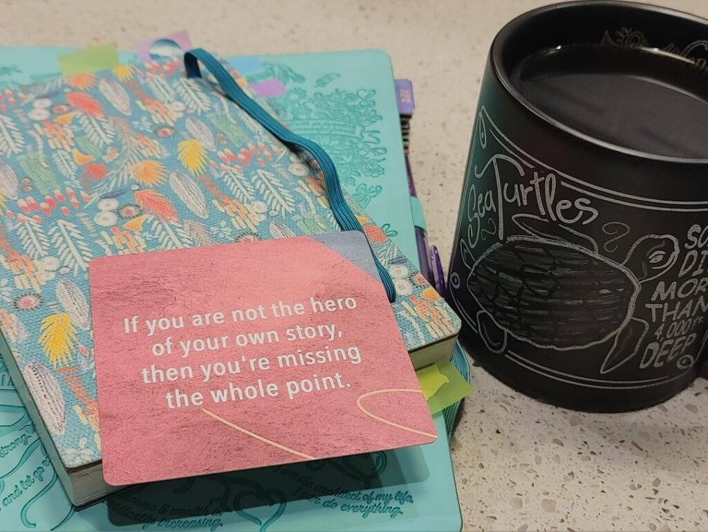 coffee and a quote