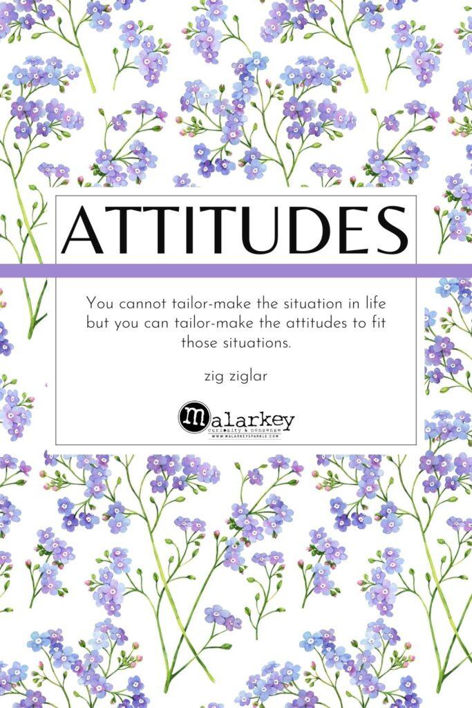 quote on atitude