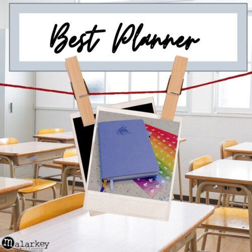 best planner - journal - back to schoolplanner for back to school