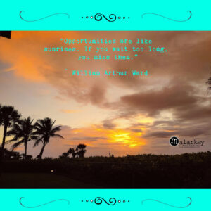 sunrises july 1st with quote