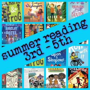 summer reading 3rd - 5th
