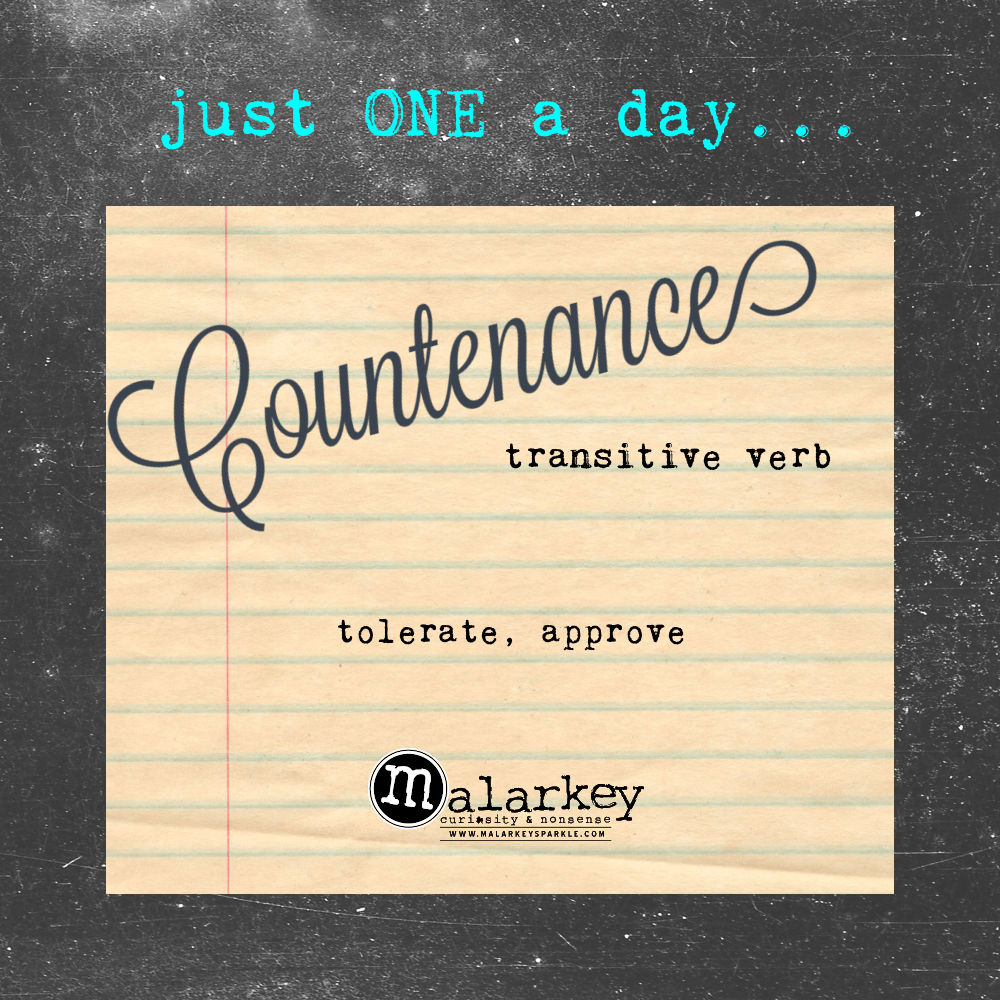 just one a day - word of the day - july 6th - 10th