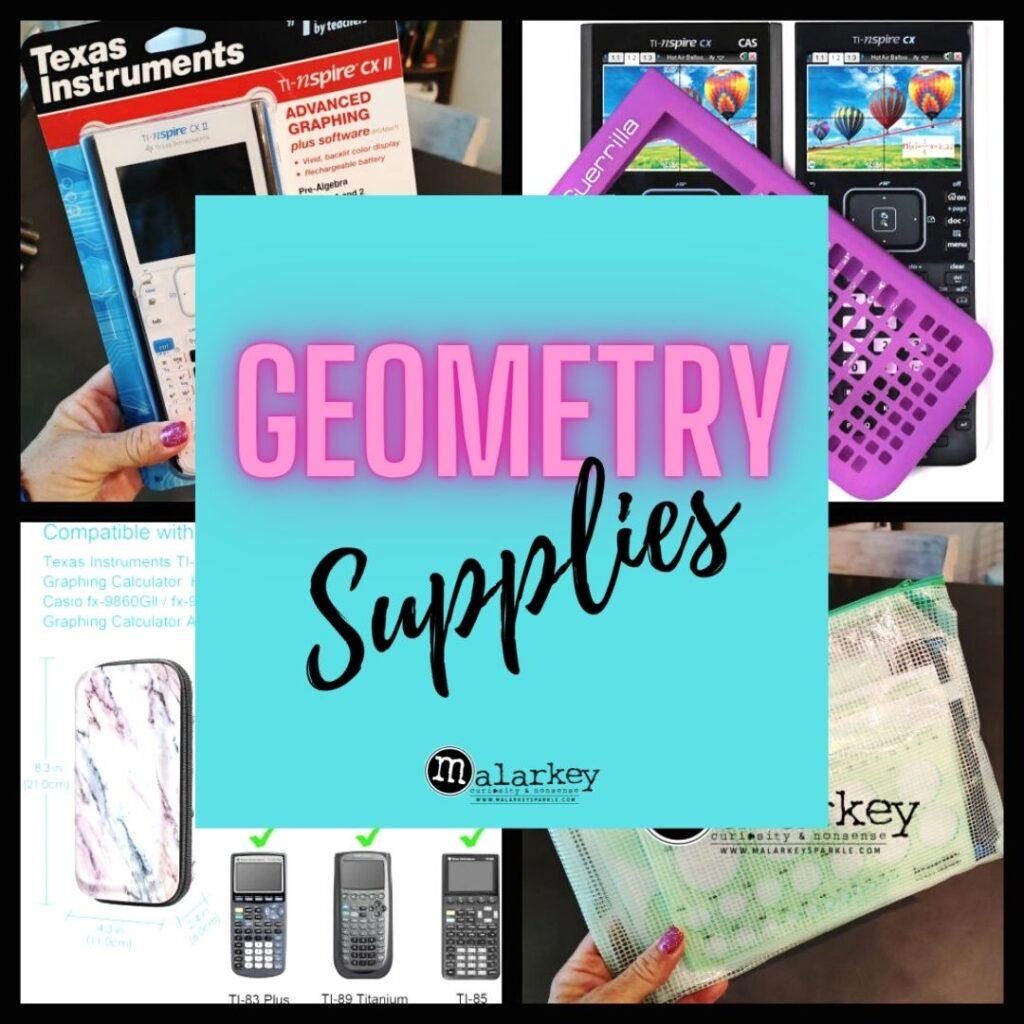 geometry supplies