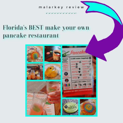 backwater review - make your own pancakes - melbourne florida