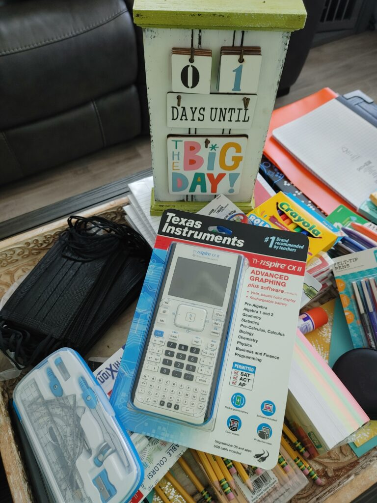 countdown for back to school