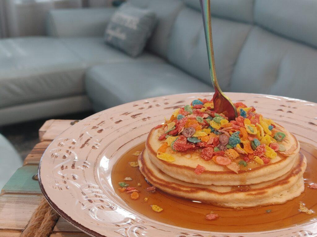 pancakes for dinner