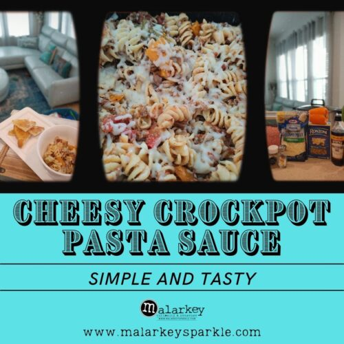 cheesy crockpot pasta sauce