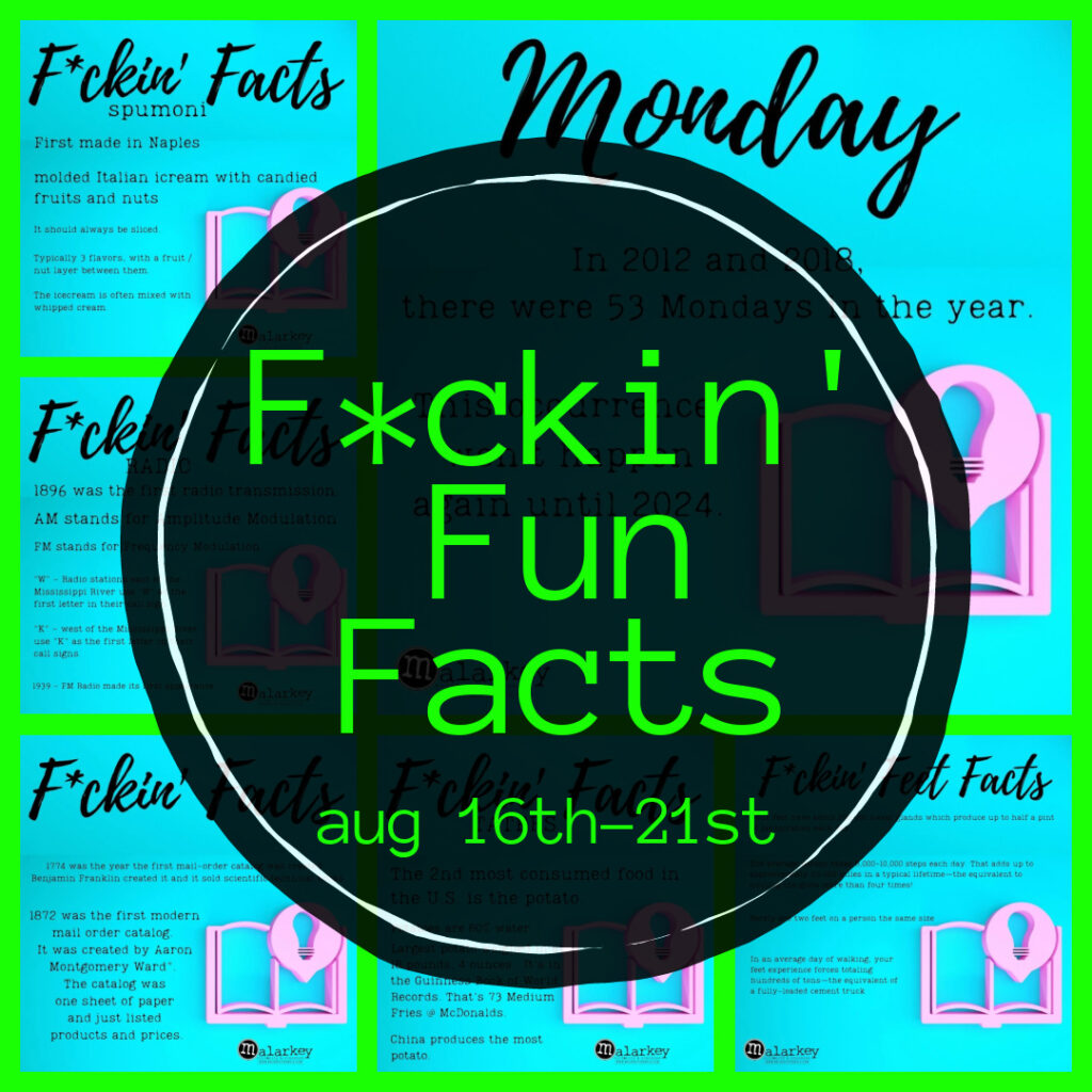 facts - august