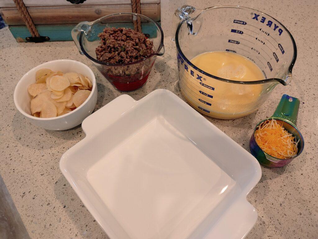 scalloped potatoes with beef marsala casserole - malarkey