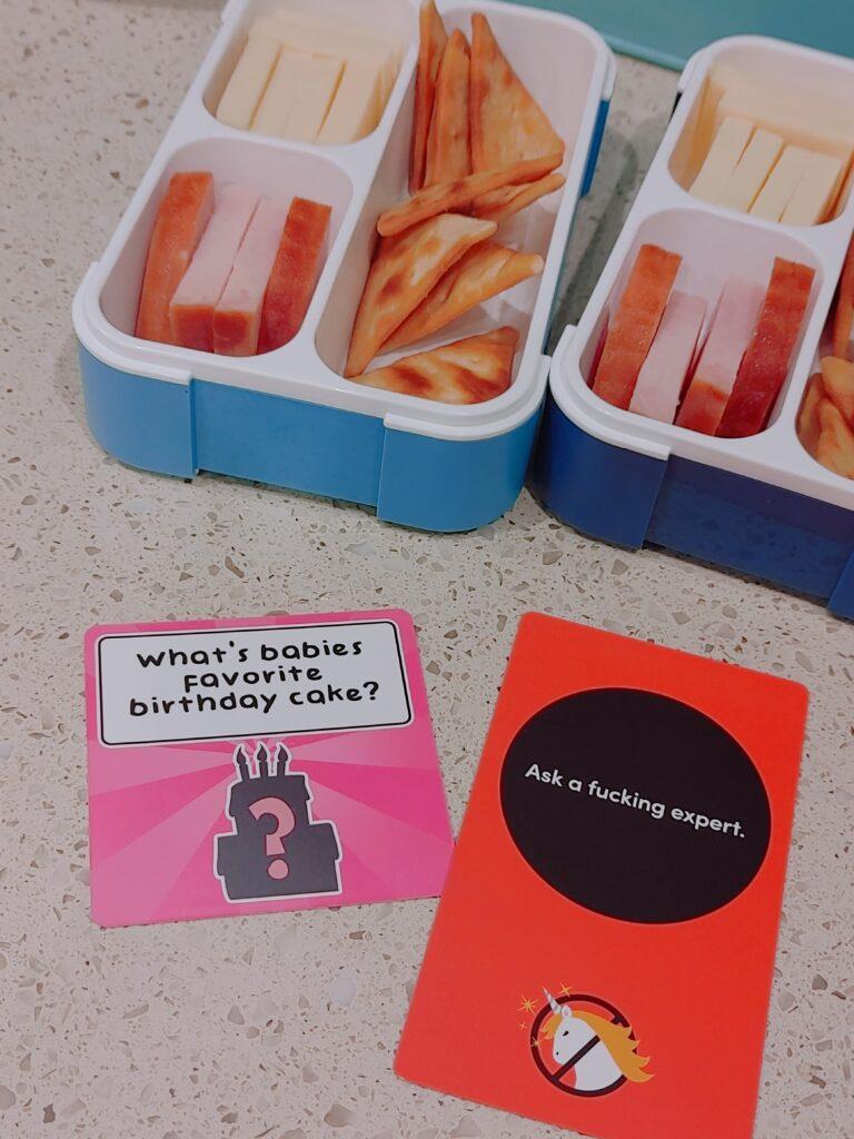lunch notes - malarkey