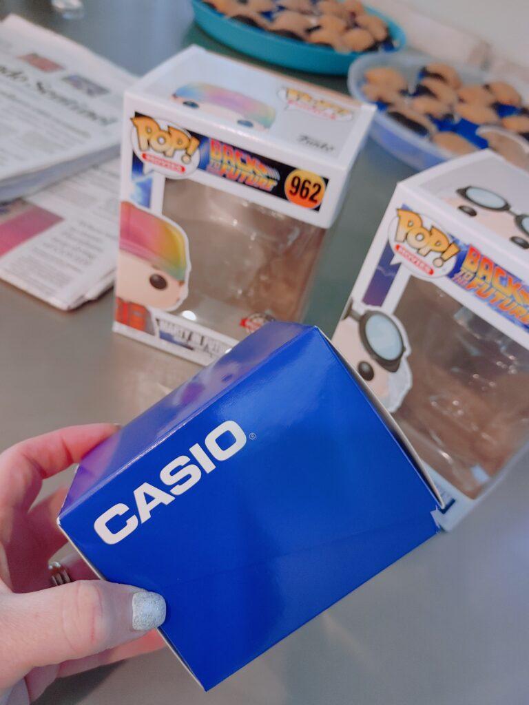casio watch - back to the future - malarkey