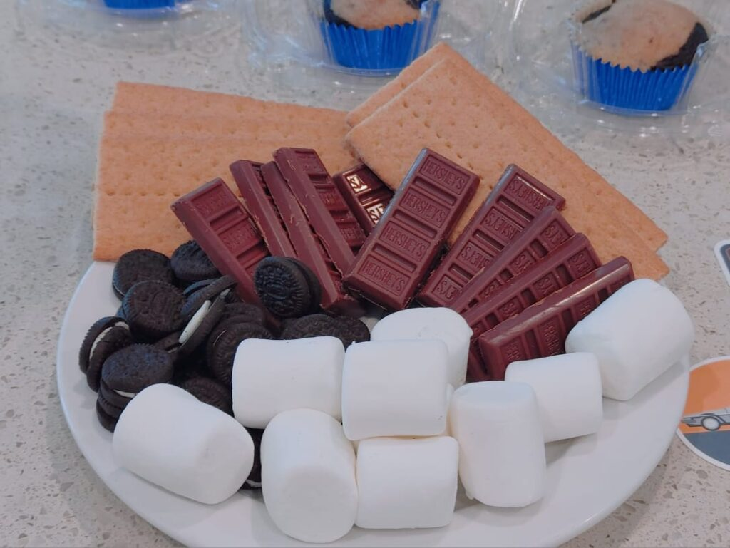 smores cupcakes - malarkey