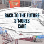 BACK TO THE FUTURE CAKE - MALARKEY