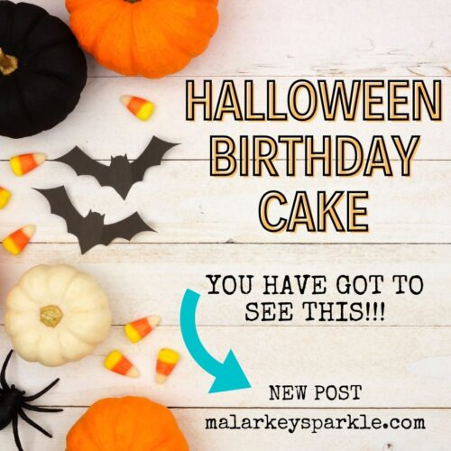 Halloween Birthday cake you have go to see this