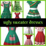 ugly sweater dresses